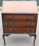 Mahogany Writing Bureau in Queen Anne Style
